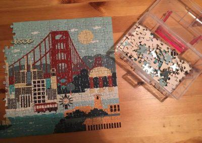 Egyedi grafika TéJé Grafika San Francisco puzzle