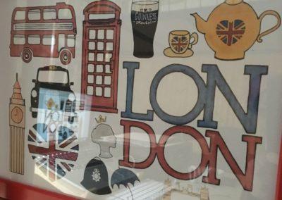 Egyedi grafika TéJé Grafika London