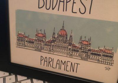 Egyedi grafika TéJé Grafika Országház