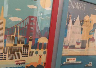Egyedi grafika TéJé Grafika San Francisco, Budapest
