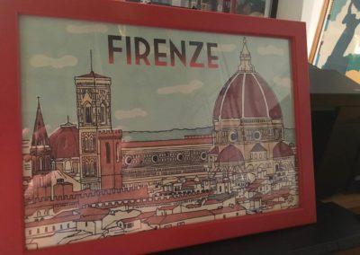 Egyedi grafika TéJé Grafika Firenze