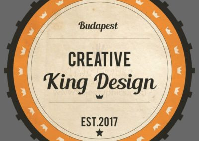 Egyedi vintage badge és logó design