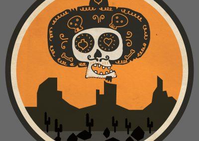 Badge, vintage logó és design