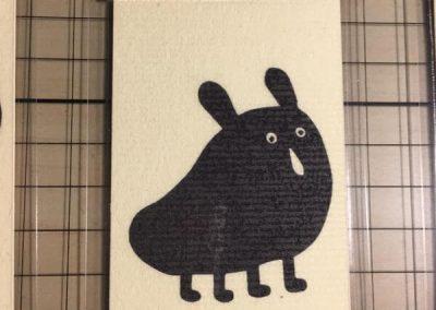 Egyedi TéJé grafika Szörnyes Fekete Péter és Memóriajáték kártya