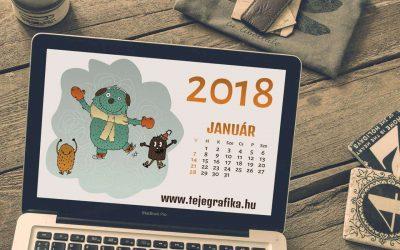Letölthető ingyenes naptár és háttérkép
