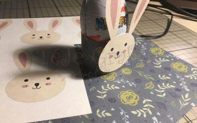 Ajándék tojástartó Húsvétra